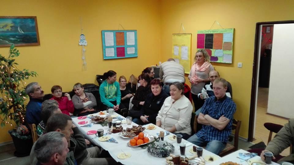 Wigilia członków Centrum  Integracji Społecznej