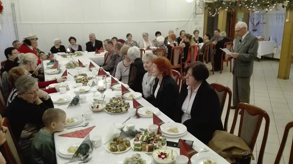 Wigilia członków Stowarzyszenia Miłośników Ziemi Nowogródzkiej