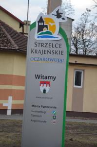 Witacz przy ulicy Bolesława Chrobrego