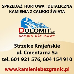Reklama do gazety DOLOMIT