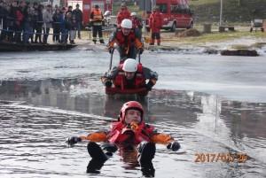 Pokazy ratowników