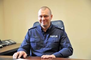 Nowy komendant- foto KPP Strzelce Kraj.
