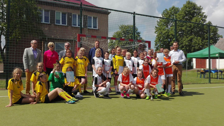 Gminny Turniej Piłki Nożnej Dziewcząt Fot. Nasze Strzelce